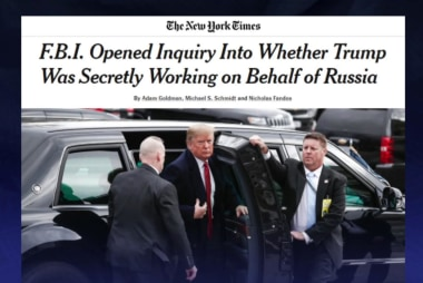 Report: FBI opened probe into whether Trump secretly worked for Russia