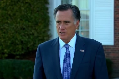 What Trump's tepid response to Romney reveals