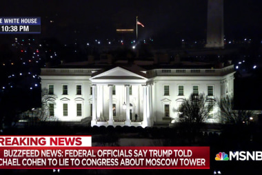 Buzzfeed reporter: President Trump directed Michael Cohen to lie to Congress