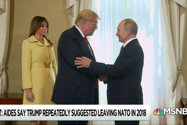 Alarm rises as Trump behavior aligns with Putin's fondest wishes