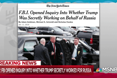 NYT: FBI worried Trump was in Russian employ after Comey firing