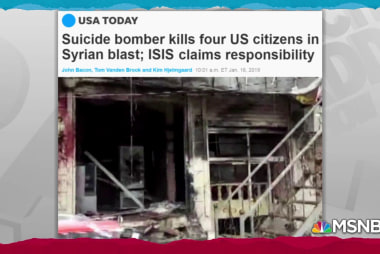 ISIS kills Americans as Pence declares ISIS 'crushed'
