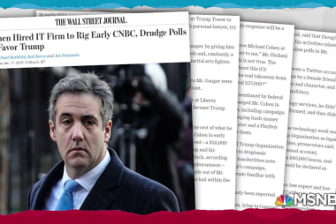WSJ: Cohen paid Liberty U. CIO to rig online polls for Trump