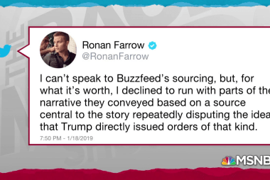 Farrow highlights contention in Buzzfeed Cohen report