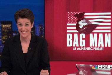 Maddow: Thank you Bag Man listeners for 10 million downloads