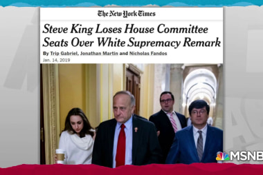 Rep. Steve King racist remarks cost him committee memberships