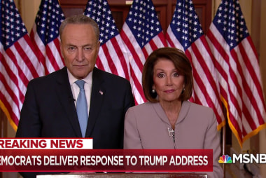 Democratic response: Trump throughout shutdown has misinformed