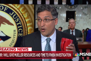 Katyal: William Barr 'is better than Matt Whitaker, but so is this coffee cup'