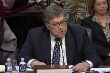Barr: 'On my watch, Bob will be allowed to finish his work'