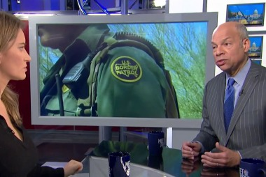 Jeh Johnson: Shutdown has 'real consequences for real people who live paycheck to paycheck'
