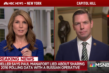 Rep. Swalwell: Manafort court docs show 'eagerness to collude'