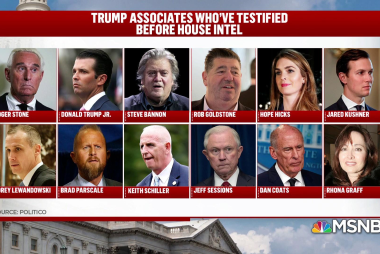 More Trump associates facing charges for lying to Congress?