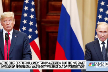 Trump's Russia, Afghan claim raising new concerns about 'guardrails'