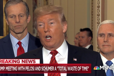 Trump clashes with Dems over wall after prime-time plea falls short