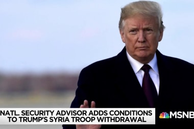 'The walk-back to end all walk-backs': White House changes tune on Syria