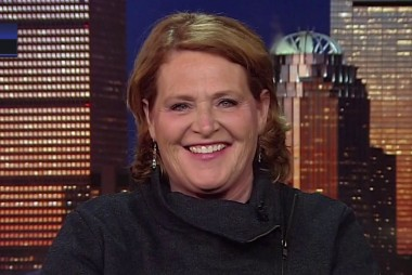 Fmr. Sen. Heitkamp on the 'Wall' and  a vote she doesn't regret