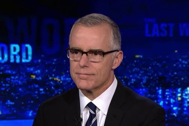 McCabe: 'Not surprising' Trump tried to intervene in SDNY probe