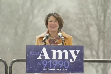 Klobuchar looks to extend winning streak with presidential bid