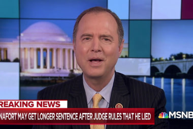 Manafort may have lied to stay in Trump's good graces: Schiff