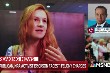 Erickson fraud charges eyed for connections to Maria Butina case