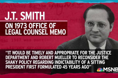 DOJ policy on indicting a president has weak basis in 1973 memo