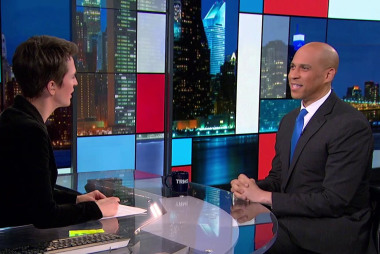 Booker 'looking to women first' as running mate if nominated