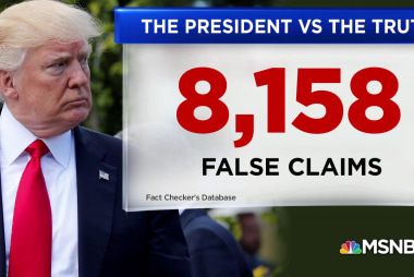 Trump's fact-checker: In a week, 'the number of false claims is usually lower when he talks less.'