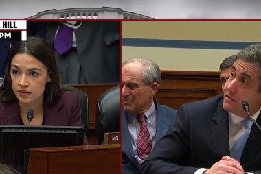 Rep. Oscasio-Cortez and Rep. Pressley question Michael Cohen