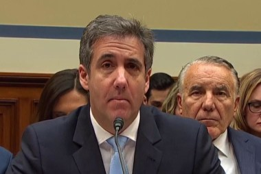 Cohen: 'I know what Mr. Trump is. He is a racist. He is a conman. He is a cheat.'