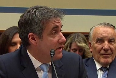 Cohen: Trump made me explain hush money payments to first lady