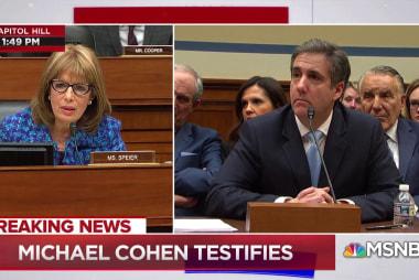 Cohen testifies on threatening people on Trump's behalf