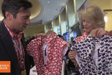 Businesswoman sells GOP-themed dresses at RedState Gathering