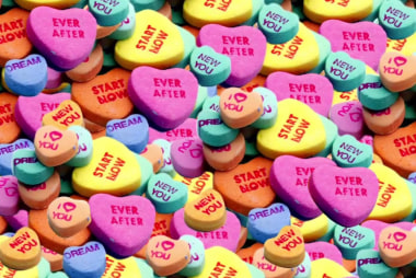 Obsessed: Valentine's Day conversation hearts turn political