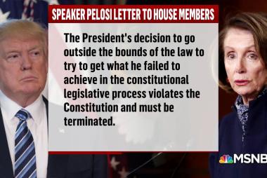 House Dems rebuke Trump's emergency order