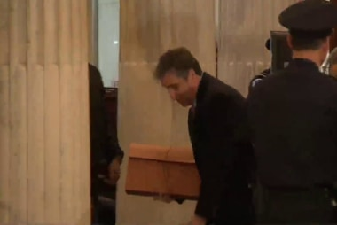 Cohen makes another visit to Congress with documents in hand