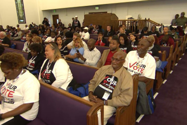 Former felons rally to register voters after voting rights restored