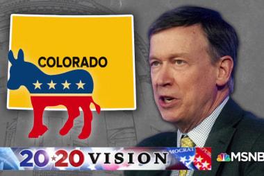 John Hickenlooper announces 2020 presidential bid