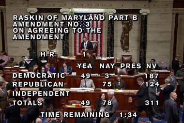 House passes anti-hate resolution 403-27