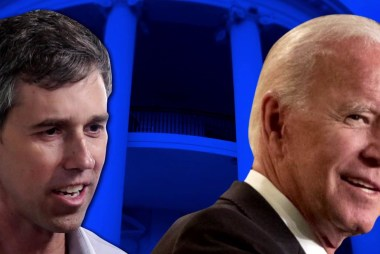 In fight for 2020 Dem nod, Beto booms and Biden bides