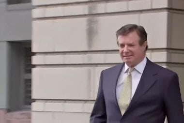 Why hasn't the president ruled out a pardon for Manafort?
