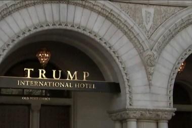 Appeals court hears emoluments case over Trump Hotel
