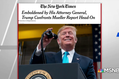 NYT: White House concerned about potential revelations in Mueller report