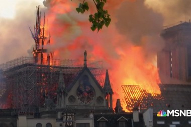 Chris Matthews calls Notre Dame fire 'a tragedy that killed no one, just history'