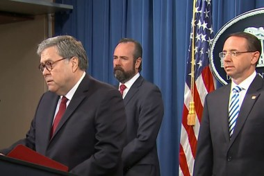 Barr says he disagreed with Mueller on legal aspects of Trump obstruction