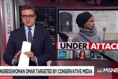 Congresswoman Omar targetted by conservative media