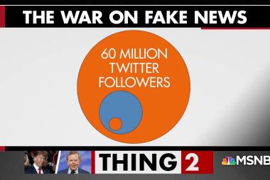 President Trump's Twitter feed is full of garbage