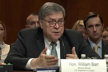 Attorney General Barr threatens skip House hearing Thursday
