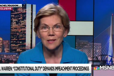 Senator Warren First 2020 Candidate to Call for Impeachment