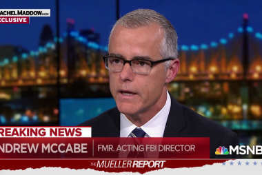 McCabe: Mueller report validates opening of Trump-Russia probe