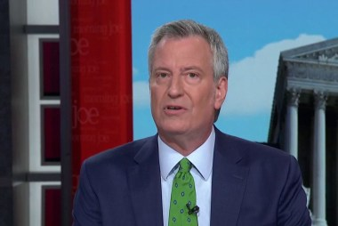 Americans want to hear actual solutions: De Blasio